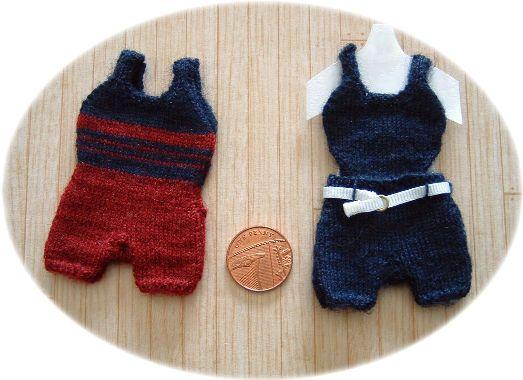 Pattern for dolls swiwear