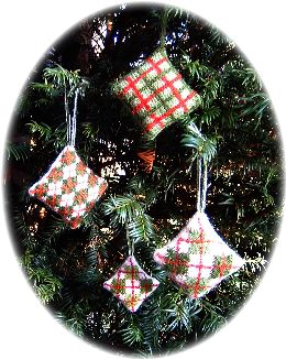 pattern for tree decorations