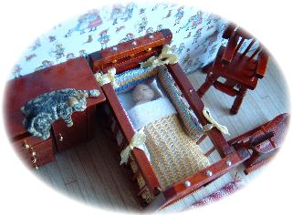 dolls house bedding