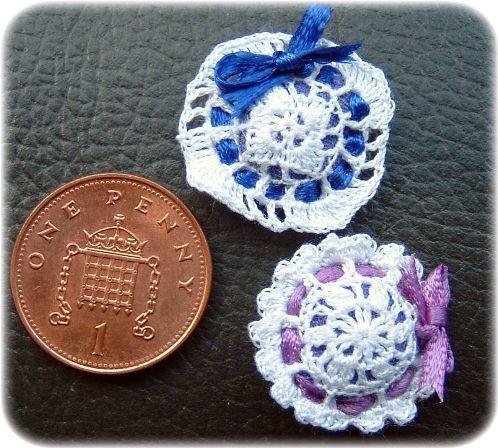miniature lavender sachets