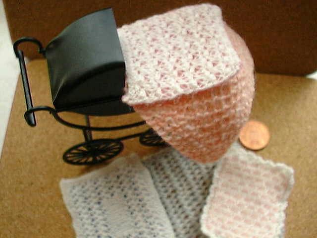 pattern for dolls bedding