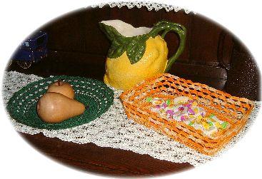 pattern for crochet baskets