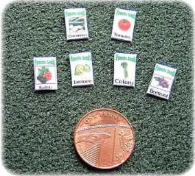 miniature seed packets