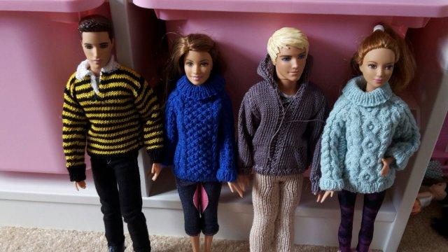 Amelies's dolls