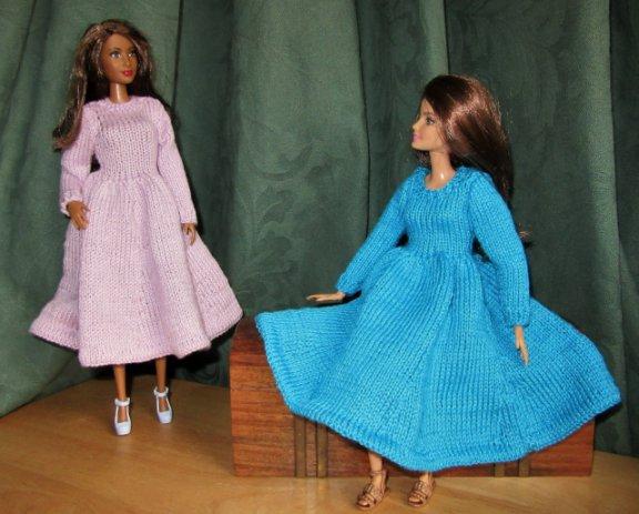 Pattern for dolls dresses