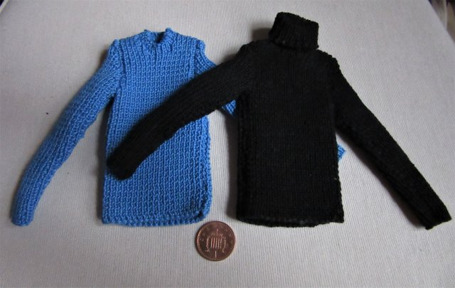 pattern for dolls rib jumpers