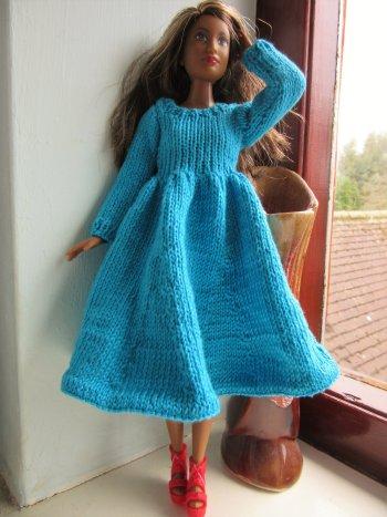 clothes on curvy Barbie