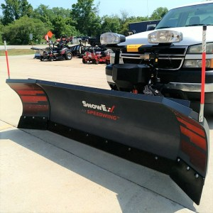 SnowEx Speedwing 8'6″ Snow Plow.  Factory Warranty Remaining!
