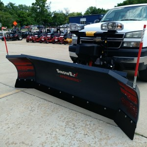 SnowEx Speedwing 8'6″ Snow Plow! Factory Warranty Remaining!