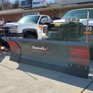 SnowEx Power Plow 8′-10″ Adjustable-Wing Plow! Warranty!
