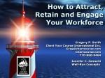 Employee Retention & Engagement Webinar – CD/Downloadable File