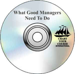 What Good Managers Need To Do