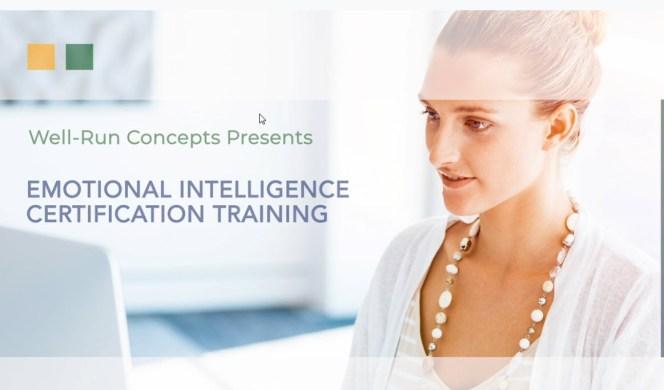 Emotional Intelligence Training & Certification (EQ)