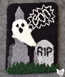 ghost in the graveyard punch needle pattern