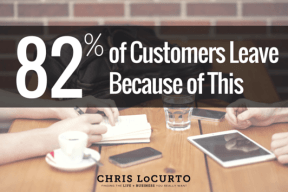 82% of Customers Leave Because of this