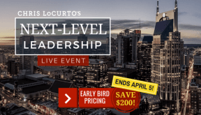 Next-Level Leadership Live Event,