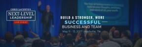 Next-Level Leadership Live Event Banner