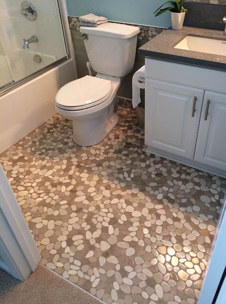 pebble tile flooring tilehub