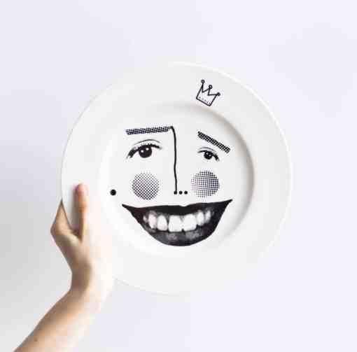 plate mina ceramics