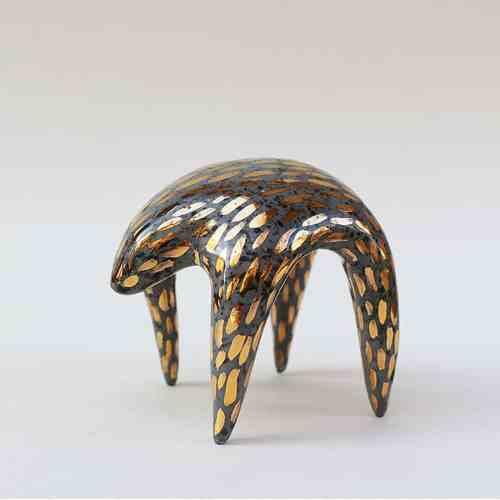 The She-bear Mocko Ceramics, hand made figurine