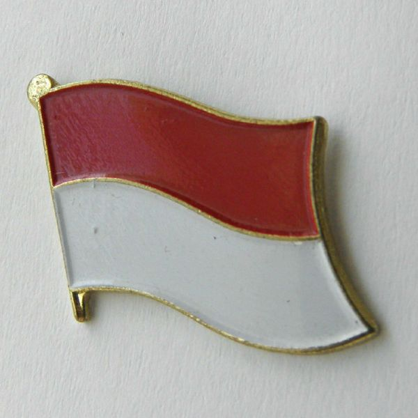Indonesia Indonesian International Country Flag Lapel Pin ...