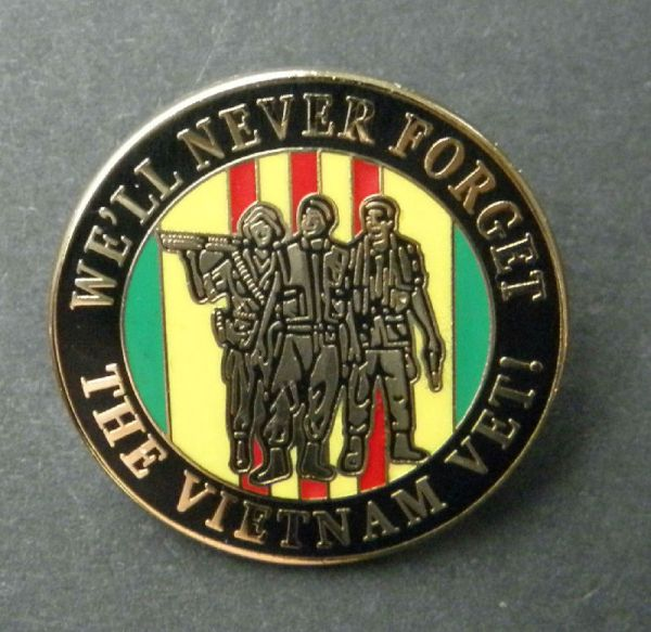 Pow Mia Vietnam War Vet Veteran We Will Never Forget Lapel ...