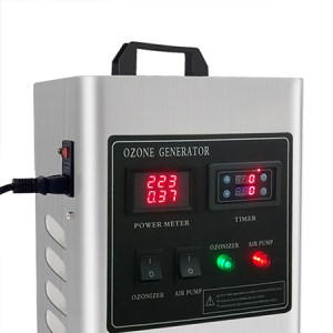 DPA-5G Ozone Generator, Portable Sanitizer for Small and Medium-sized Environments up to 100 m³/hour, Air & Water purification, Ozone output 5 G/hour, 900-hour Adjustable timer, CE and RoHS Certifications