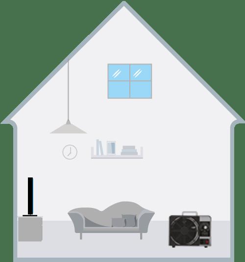 generatore di ozono icona casa3