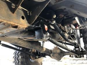 Dodge Off Road Rear 4 Link Coilover Suspension