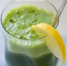 Green Ginger Cucumber Juice