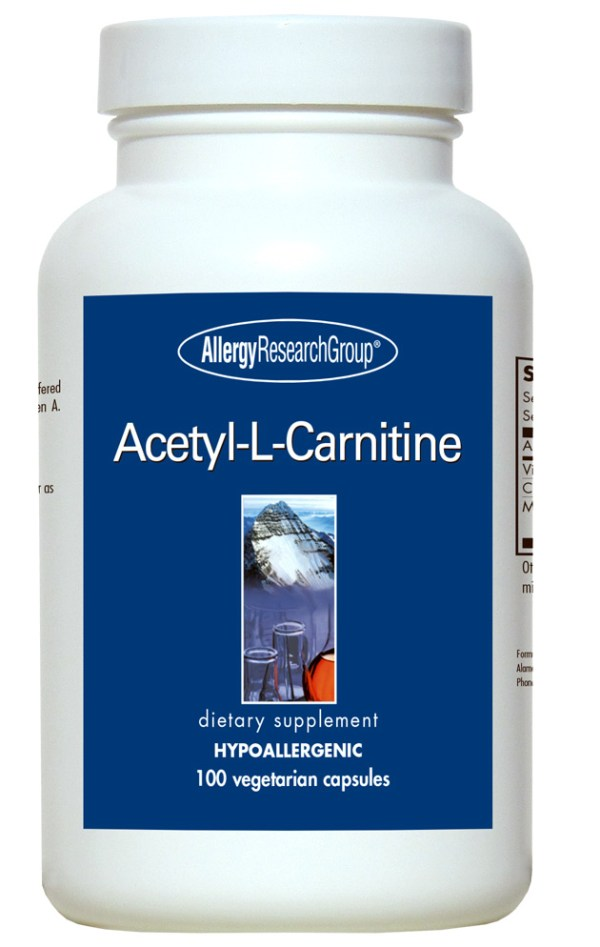 Acetyl-L-Carnitine 500 Mg 100 Vegetarian Caps