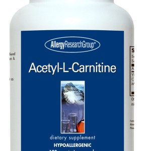 Acetyl-L-Carnitine 500 Mg 100 Vegetarian Caps