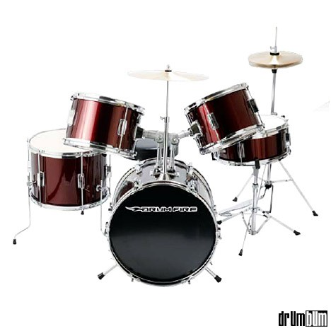 DRUM BUM  DRUMS  DRUM SETS  Drumfire Junior Drum Set drumfire kids drumset jpg