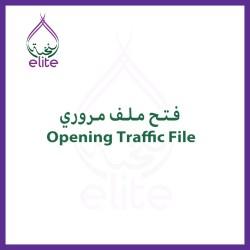 Opening Traffic File UAE 024120000