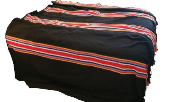 Dark Times King Blanket Alpaca Temps Noir Couverte Très Grande Alpaga 1
