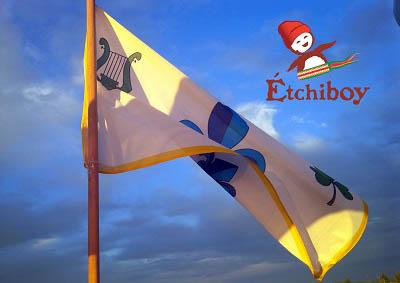 Louis Riel 1870 Provisional Government Flag Drapeau Du Gouvernement Provisoire Full Size 1