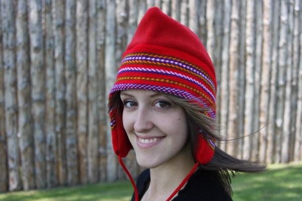 Red Sash Toque Tuque Ceinture Fléchée Rouge 4