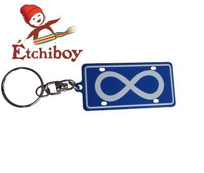 Keychain Porte-Clefs Métis Flag Drapeau Métis 1