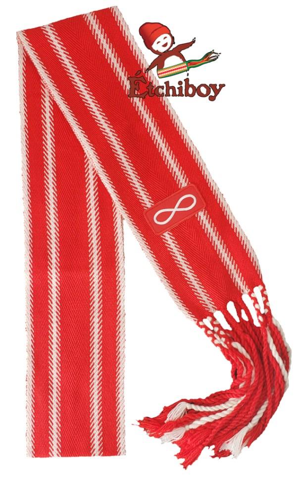 Red Métis Flag Drapeau Métis Rouge Alpaca Medium Alpaga Moyenne 1