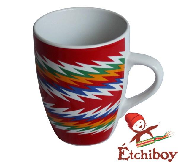 Red Sash Mug Tasse Ceinture Fléchée Rouge 1