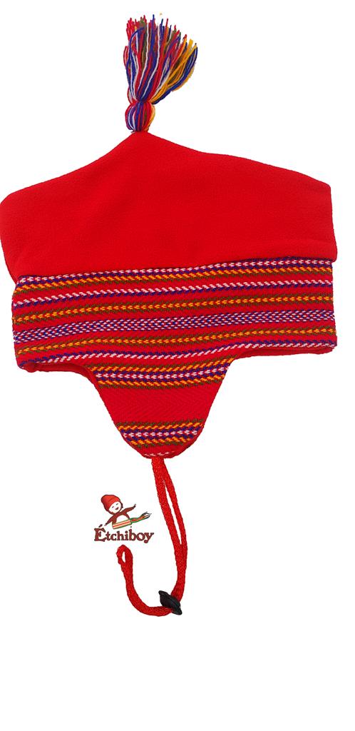 Red Sash Toque Tuque Ceinture Fléchée Rouge 5