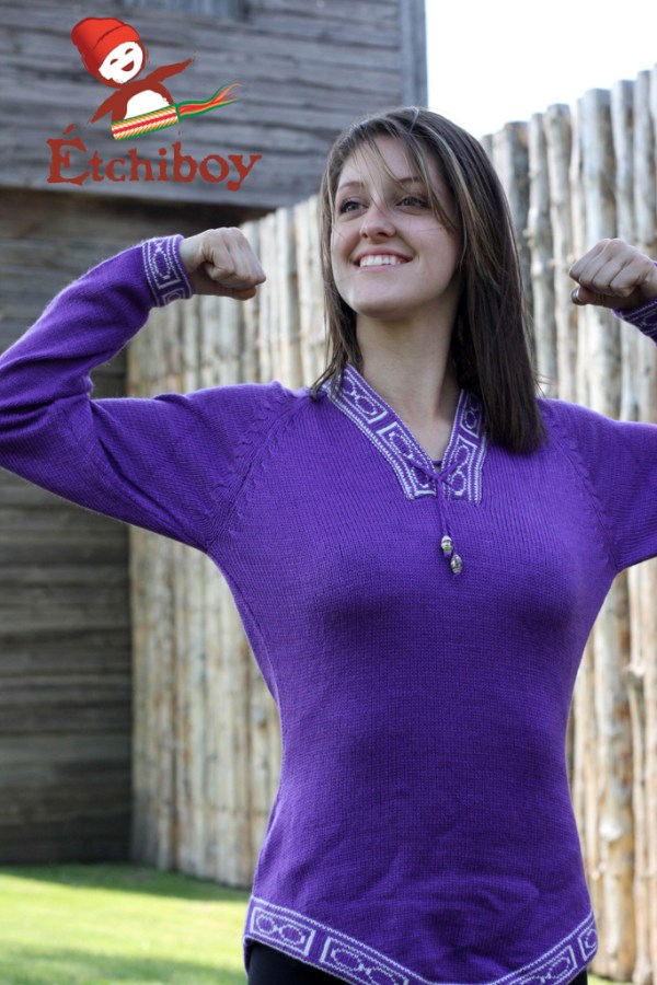 Violet Sweater Chandail Violet 3