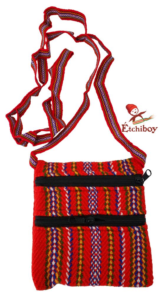Carnaval De Québec 2 Zipper Bag Medium Sac Moyen 2 Fermetures Éclair 1