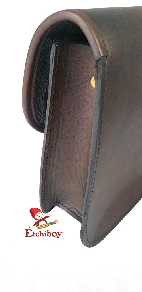 Leather Bag Sac En Cuir 3