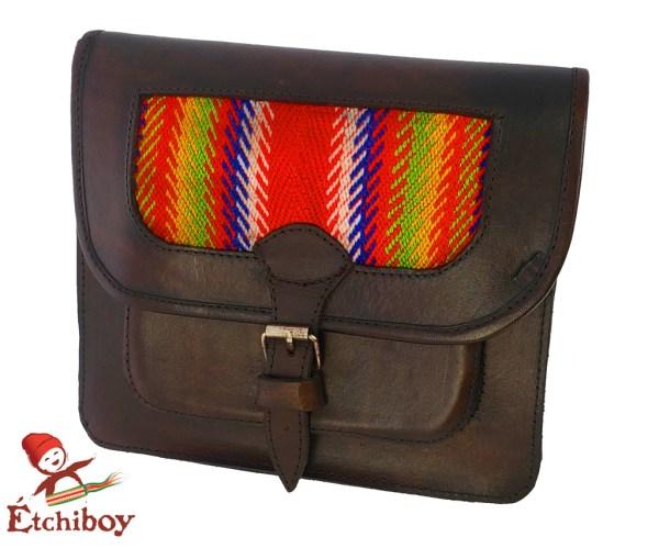 Leather Bag Sac En Cuir 1
