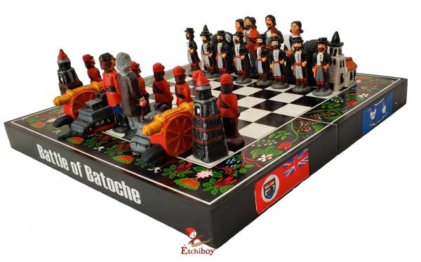 Étchiboy Battle of Batoche Chess Jeu d'échec de la Bataille de Batoche 1