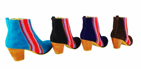 La Belle Bottine Leather Ankle Boot with Strap Cuir avec Bande 2
