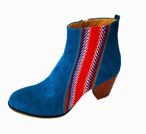 La Belle Bottine Leather Ankle Boot with Strap Cuir avec Bande 1