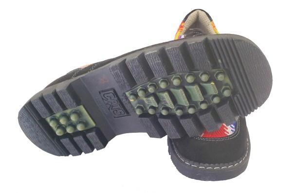 Turtle Mountain Leather Lace-Up Shoe Soulier Cuir A Lacet 4
