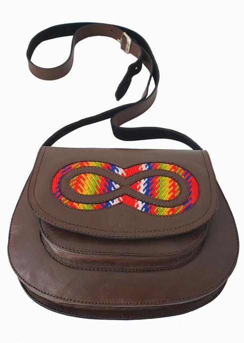 Ste. Madeleine Leather Bag Sac En Cuir 3